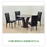 WING NORWAY DINING SET 1+4